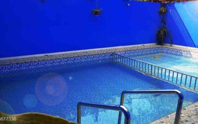 Villa Di Batu Malang Kolam Renang Ber Kapasitas Besar